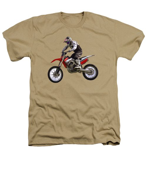 Motocross Heathers T-Shirt by Scott Carruthers