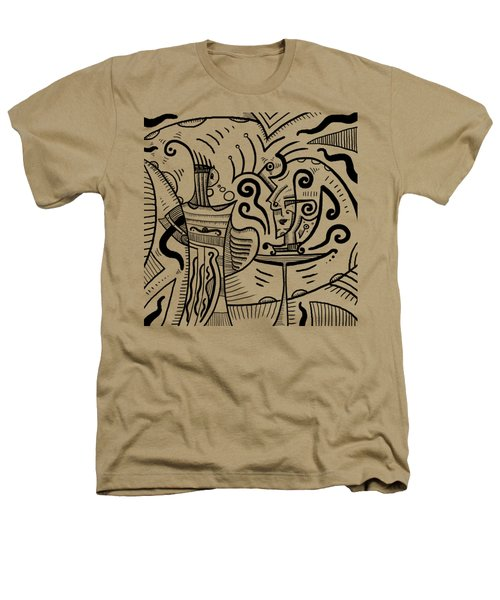 Mystical Powers Heathers T-Shirt by Erki Schotter