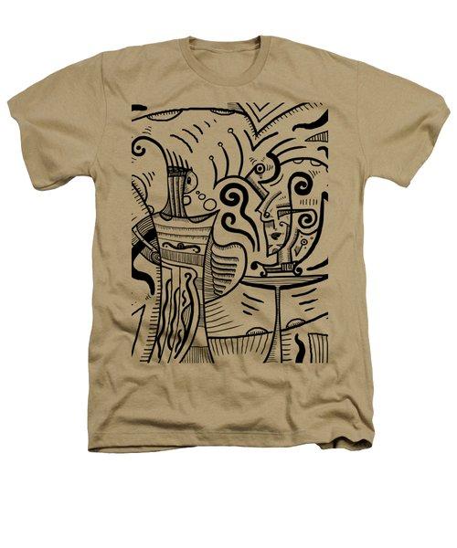 Mystical Powers Heathers T-Shirt by Sotuland Art