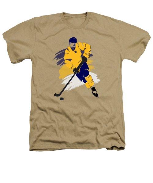 Nashville Predators Player Shirt Heathers T-Shirt by Joe Hamilton