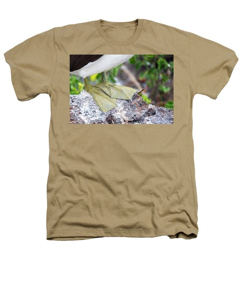 Nazca Booby Feet Heathers T-Shirt by Jess Kraft