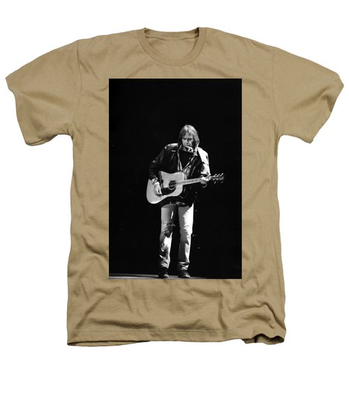 Neil Young Heathers T-Shirt by Wayne Doyle