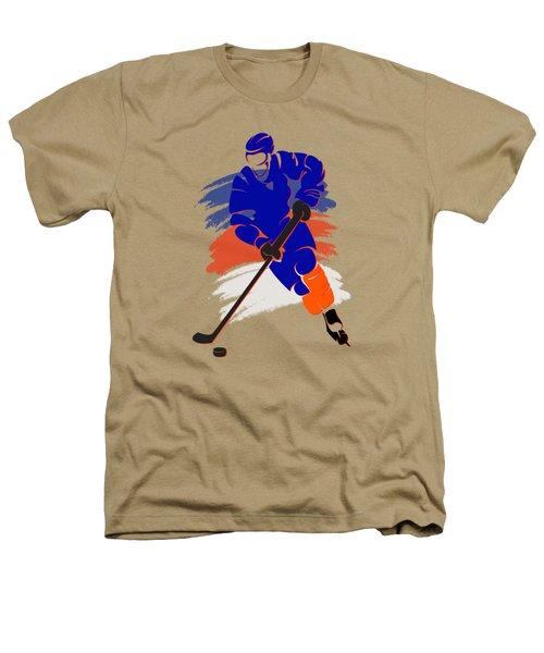New York Islanders Player Shirt Heathers T-Shirt by Joe Hamilton