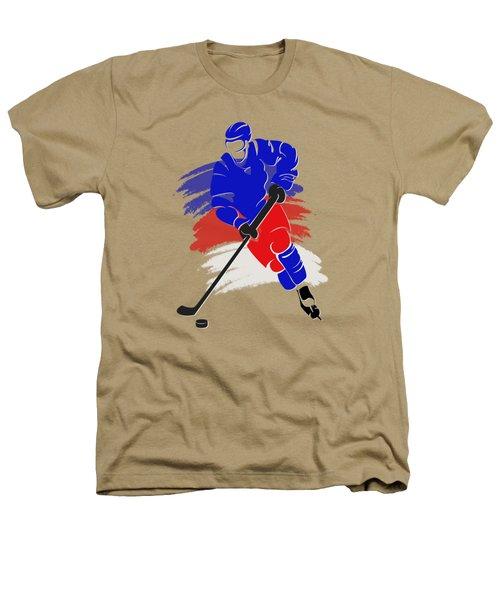 New York Rangers Player Shirt Heathers T-Shirt by Joe Hamilton