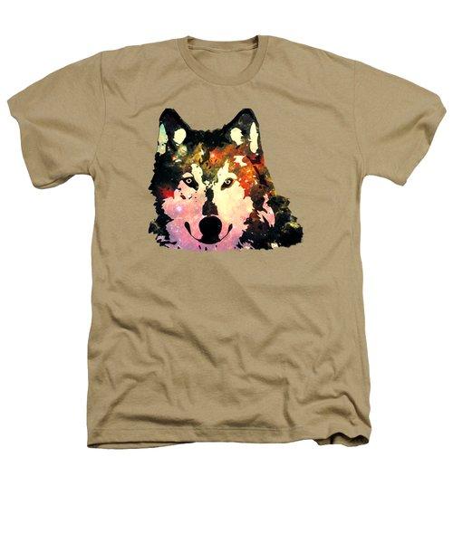 Night Wolf Heathers T-Shirt by Anastasiya Malakhova
