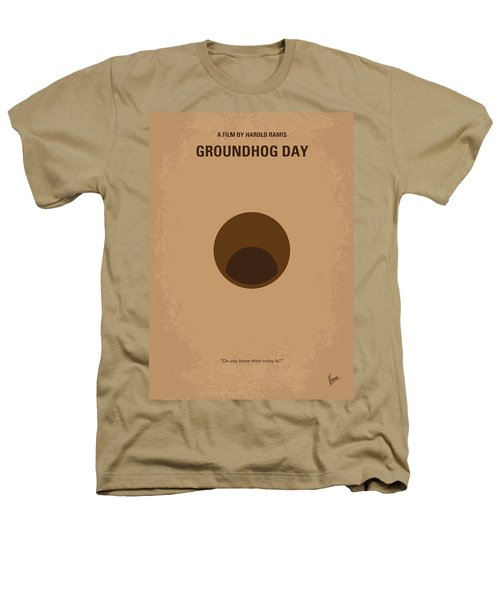 No031 My Groundhog Minimal Movie Poster Heathers T-Shirt by Chungkong Art