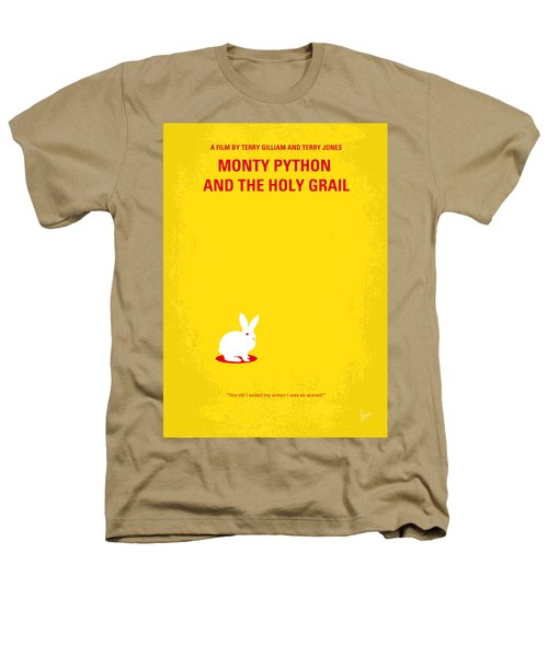 No036 My Monty Python And The Holy Grail Minimal Movie Poster Heathers T-Shirt by Chungkong Art