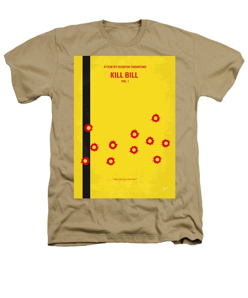 No048 My Kill Bill -part 1 Minimal Movie Poster Heathers T-Shirt by Chungkong Art