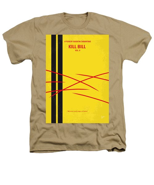 No049 My Kill Bill-part2 Minimal Movie Poster Heathers T-Shirt by Chungkong Art