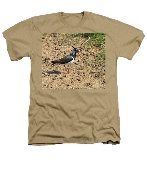 Northern Lapwing Heathers T-Shirt by Louise Heusinkveld