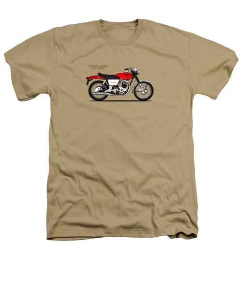 Norton Commando Fastback Heathers T-Shirt by Mark Rogan