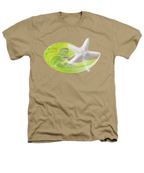 Ocean Fresh Heathers T-Shirt by Gill Billington