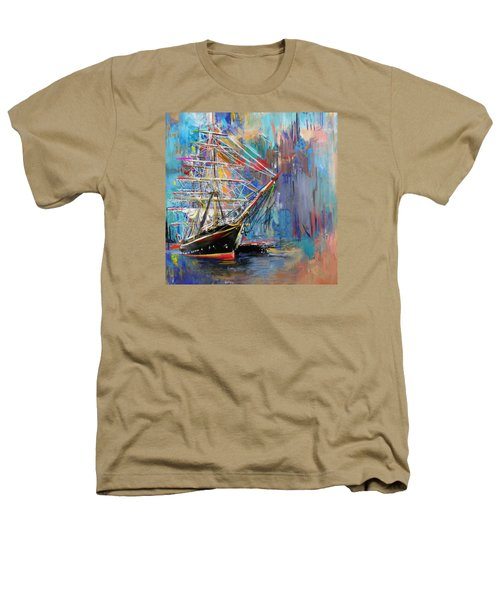 Old Ship 226 1 Heathers T-Shirt by Mawra Tahreem