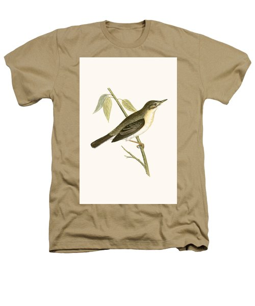 Olivaceous Warbler Heathers T-Shirt by English School