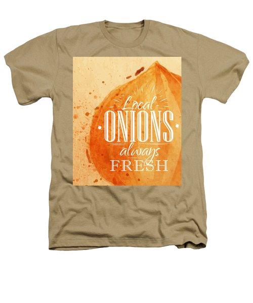 Onion Heathers T-Shirt by Aloke Design