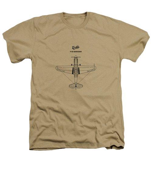P-40 Warhawk Heathers T-Shirt by Mark Rogan