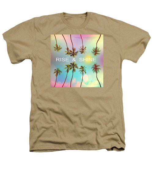Palm Trees Heathers T-Shirt by Mark Ashkenazi