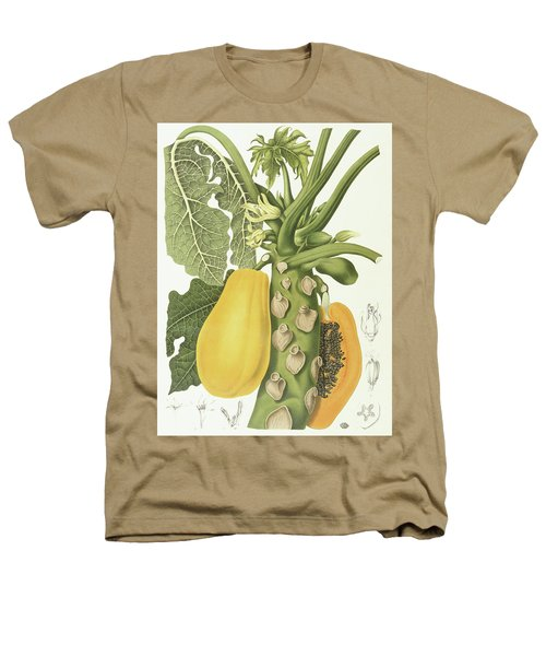 Papaya Heathers T-Shirt by Berthe Hoola van Nooten
