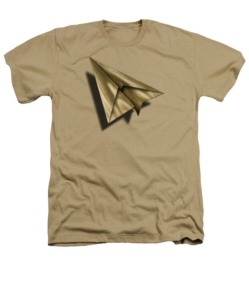 Paper Airplanes Of Wood 18 Heathers T-Shirt by YoPedro