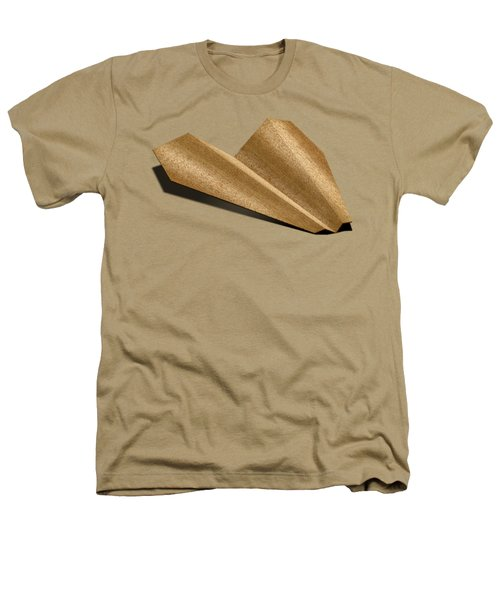 Paper Airplanes Of Wood 6 Heathers T-Shirt by YoPedro