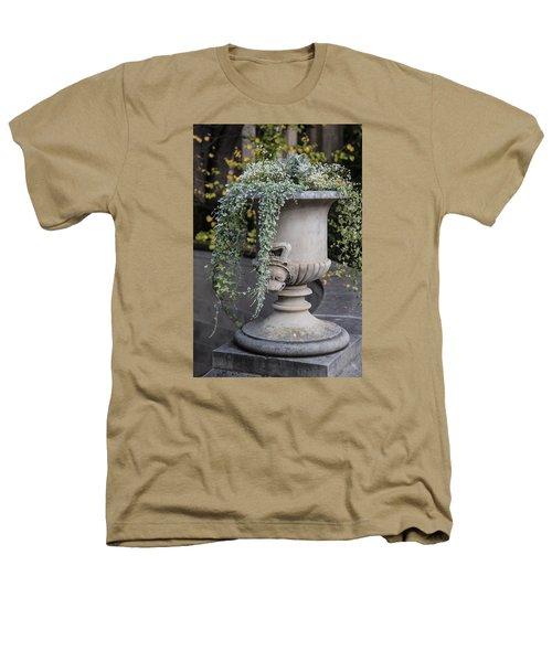 Penn State Flower Pot  Heathers T-Shirt by John McGraw