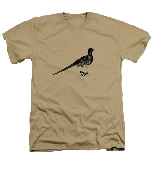 Pheasant Heathers T-Shirt by Mark Rogan