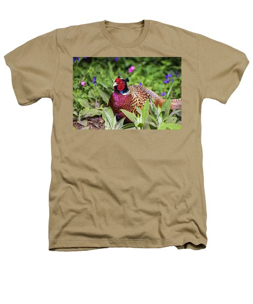 Pheasant Heathers T-Shirt by Martin Newman
