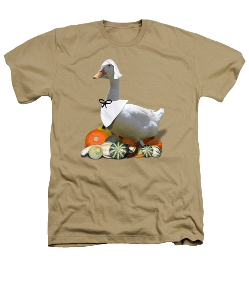 Pilgrim Duck Heathers T-Shirt by Gravityx9 Designs