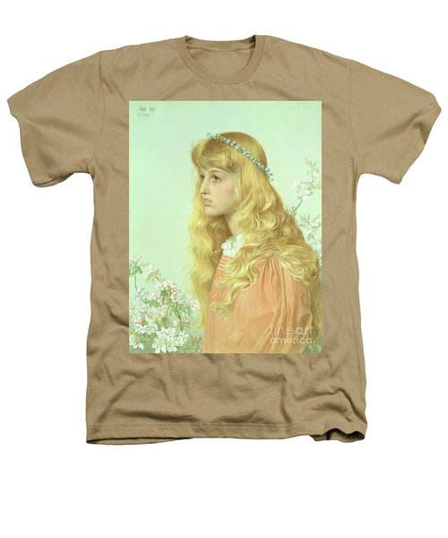 Portrait Of Miss Adele Donaldson, 1897 Heathers T-Shirt by Anthony Frederick Augustus Sandys