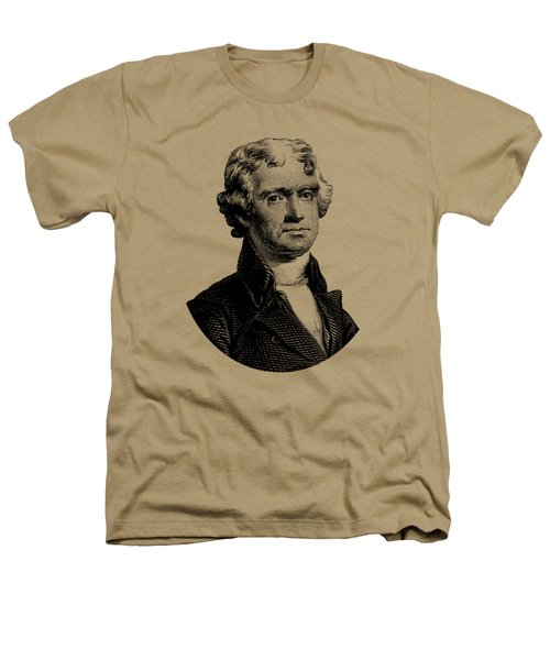 President Thomas Jefferson Graphic Heathers T-Shirt by War Is Hell Store
