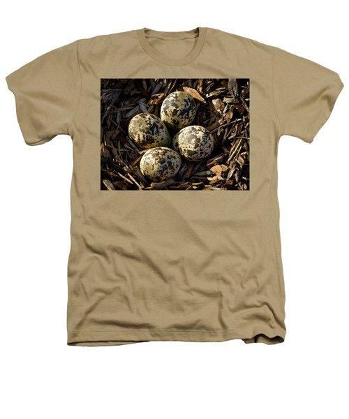Quartet Of Killdeer Eggs By Jean Noren Heathers T-Shirt by Jean Noren