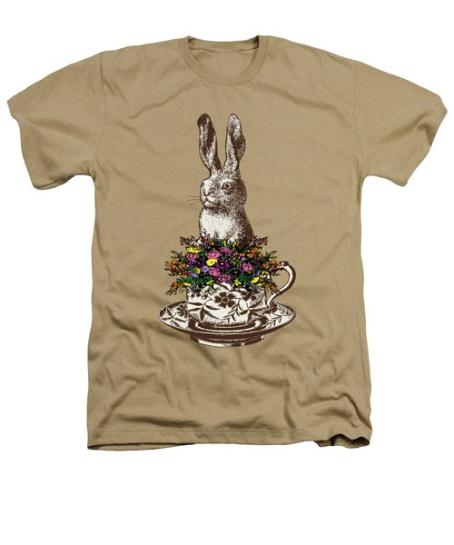 Rabbit In A Teacup Heathers T-Shirt by Eclectic at HeART