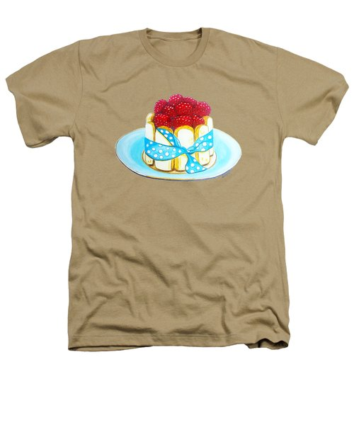 Raspberry Finger Biscuit Dessert Illustration Heathers T-Shirt by Sonja Taljaard