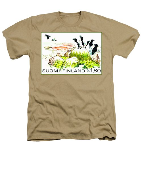 Razorbills Heathers T-Shirt by Lanjee Chee