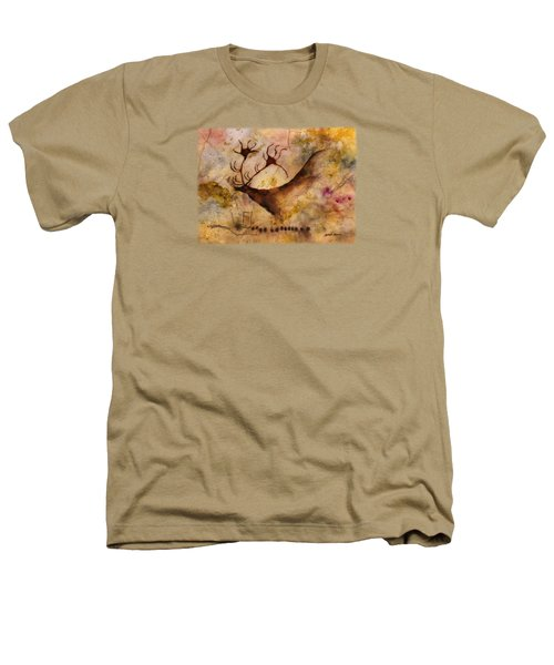 Red Deer Heathers T-Shirt by Hailey E Herrera