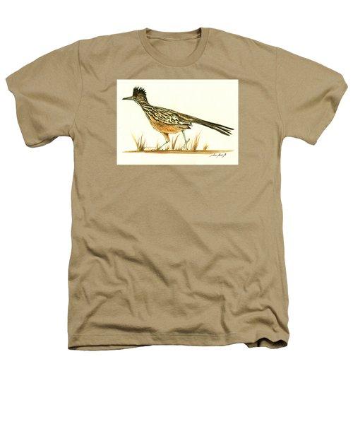 Roadrunner Bird Heathers T-Shirt by Juan Bosco
