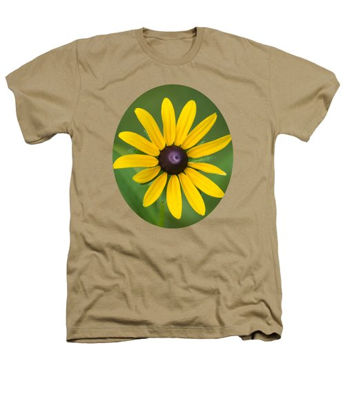 Rudbeckia Flower Heathers T-Shirt by Christina Rollo