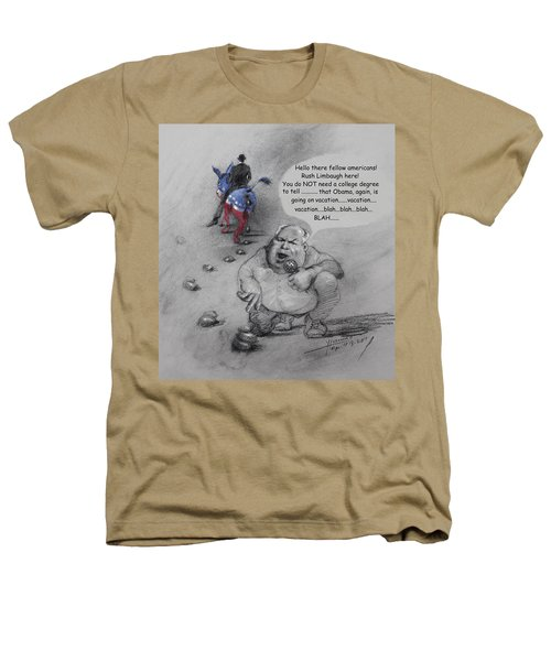 Rush Limbaugh After Obama  Heathers T-Shirt by Ylli Haruni