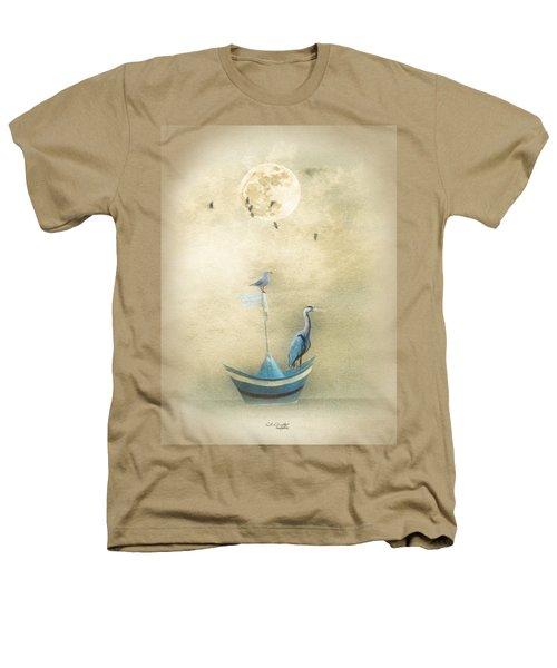 Sailing By The Moon Heathers T-Shirt by Chris Armytage