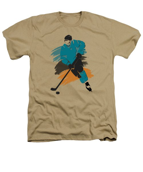 San Jose Sharks Player Shirt Heathers T-Shirt by Joe Hamilton