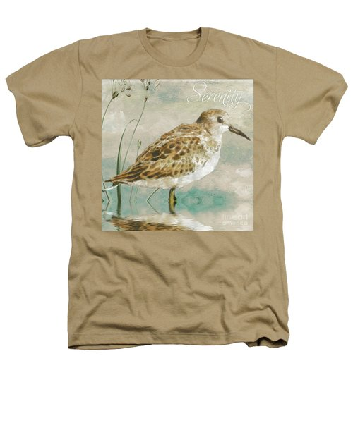 Sandpiper I Heathers T-Shirt by Mindy Sommers