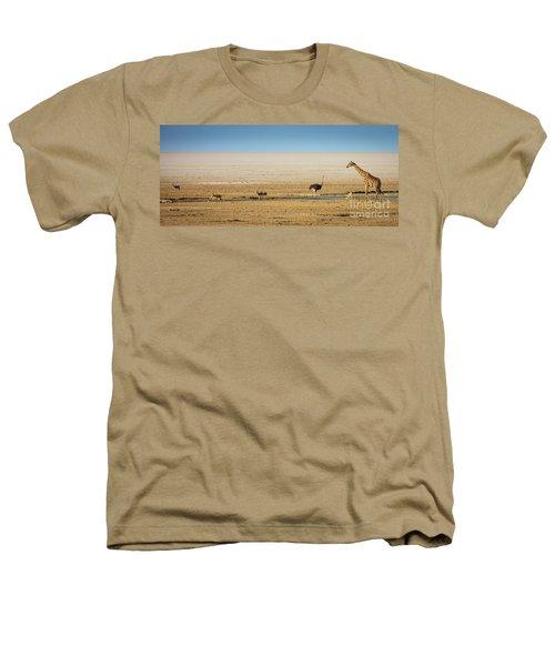Savanna Life Heathers T-Shirt by Inge Johnsson