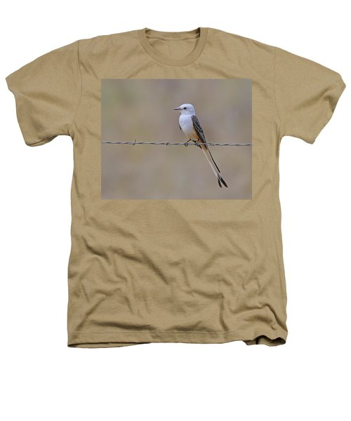 Scissor-tailed Flycatcher Heathers T-Shirt by Tony Beck