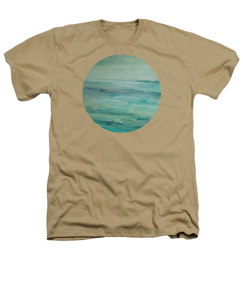 Sea Glass Heathers T-Shirt by Mary Wolf