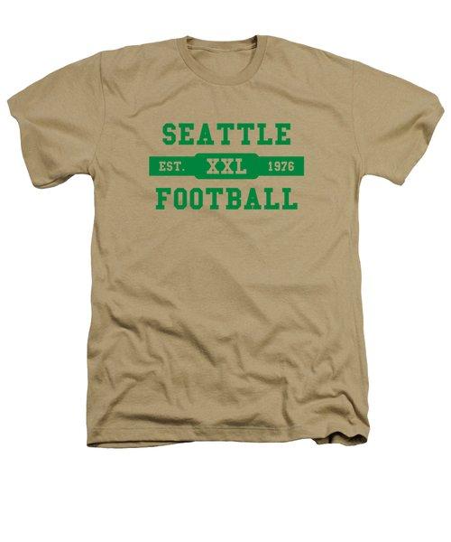 Seahawks Retro Shirt Heathers T-Shirt by Joe Hamilton