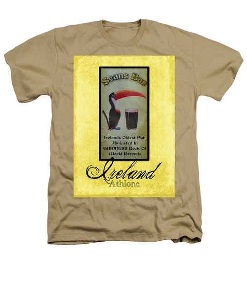 Seans Bar Guinness Pub Sign Athlone Ireland Heathers T-Shirt by Teresa Mucha
