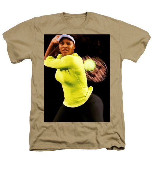Serena Williams Bamm Heathers T-Shirt by Brian Reaves