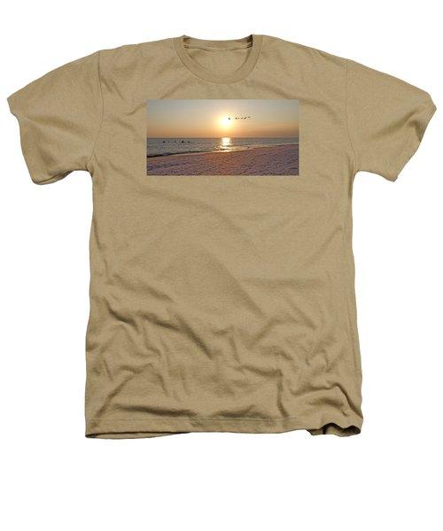 Shackleford Banks Sunset Heathers T-Shirt by Betsy Knapp
