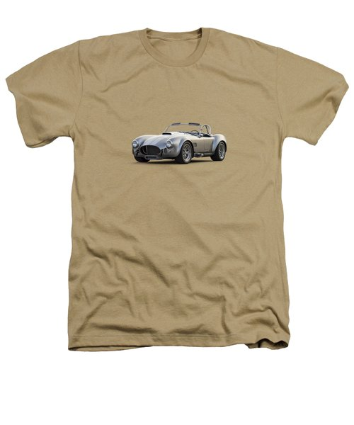 Silver Ac Cobra Heathers T-Shirt by Douglas Pittman