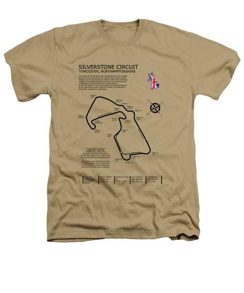 Silverstone Circuit Heathers T-Shirt by Mark Rogan